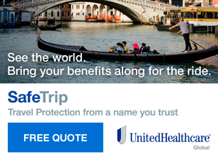 See the world. Bring your benefits along for the ride.