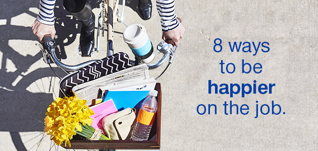 8 ways to be happier on the job.